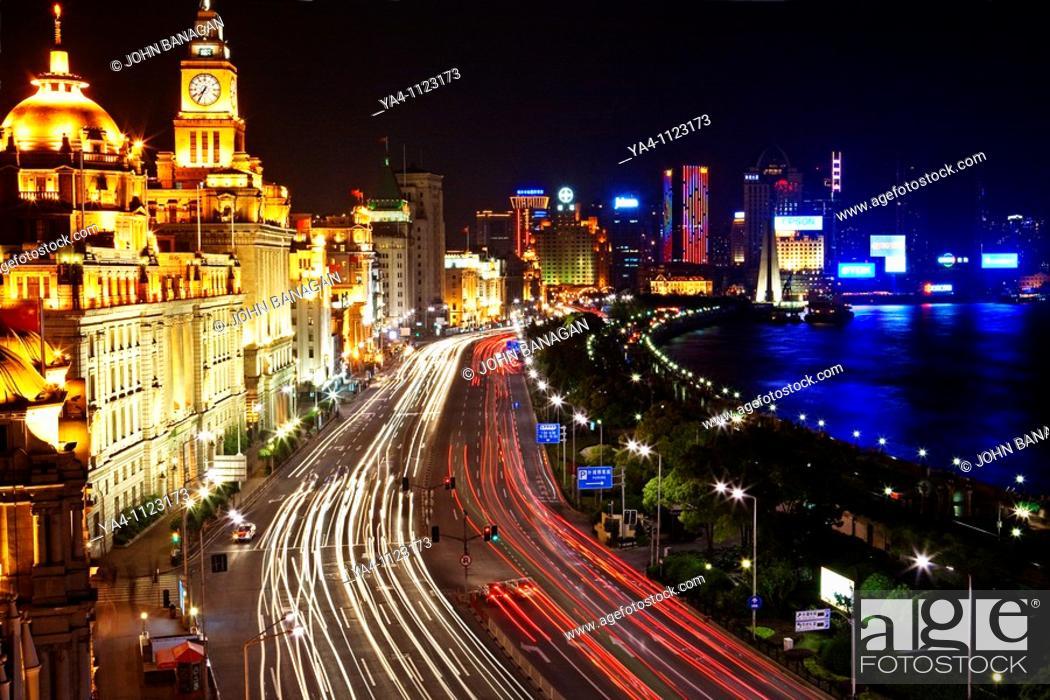 Stock Photo: The Bund, Shanghai.