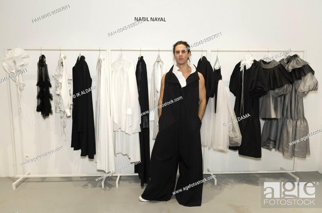 Nabil Nayal Fashion Designer Presents His Collection At London Showrooms During Paris Fashion Week Stock Photo Picture And Rights Managed Image Pic Pah 0045 95507011 Agefotostock