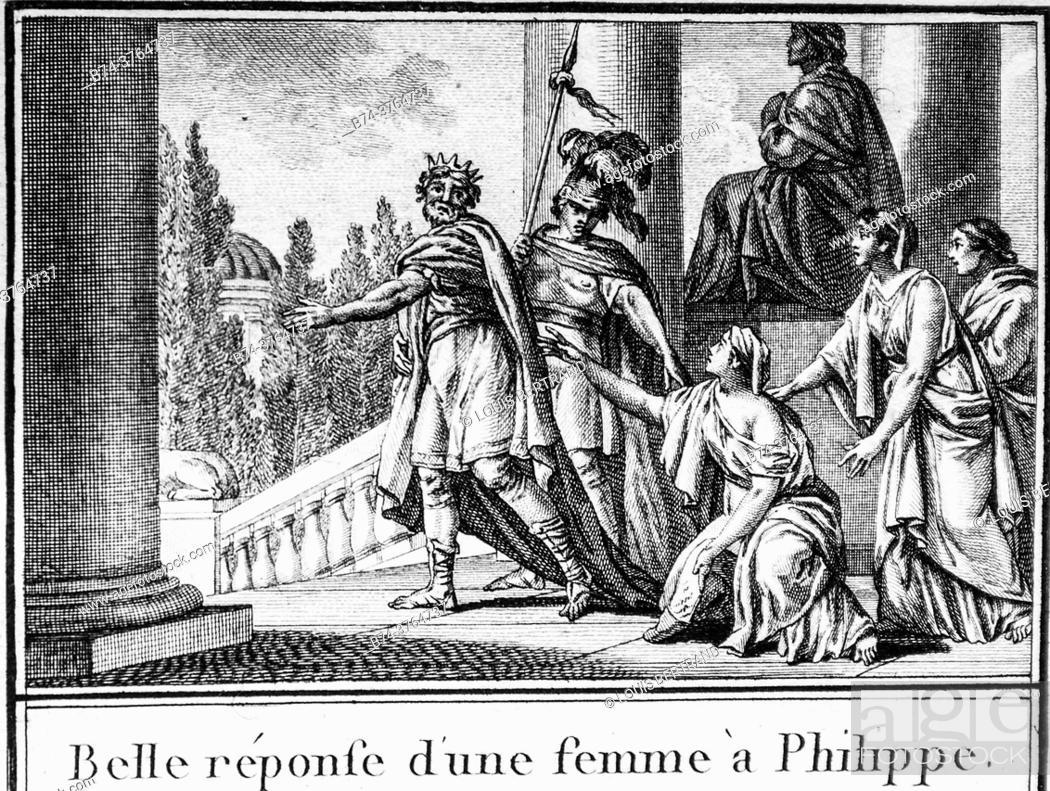Photo de stock: Greek mythology, abbreviated editor of universal history 1850.