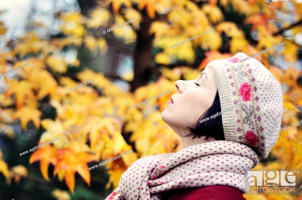 Imagen: Woman enjoying life.