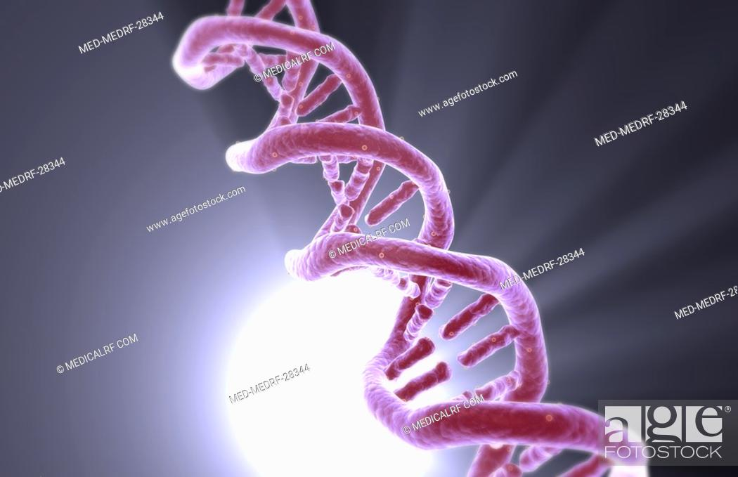 Stock Photo: DNA structure.