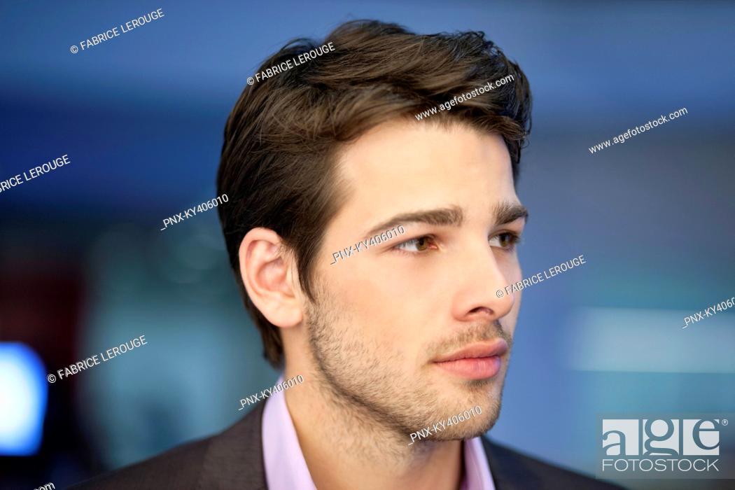 Stock Photo: Close-up of a businessman.