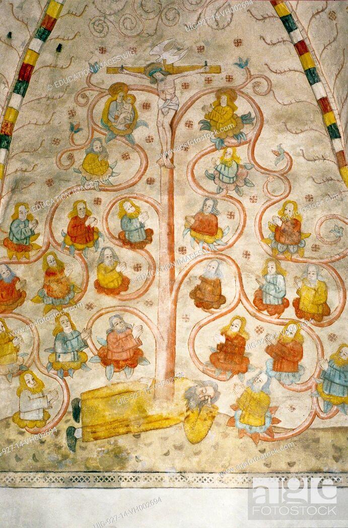 Kuvahaun tulos haulle st. laurence church lohja paintings