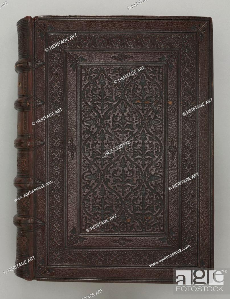 Stock Photo: Gothic Bible (Vulgate), c. 1275-1300. Creator: Unknown.