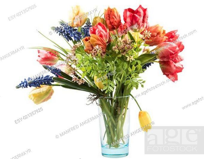 Stock Photo: Flower Bouquet.