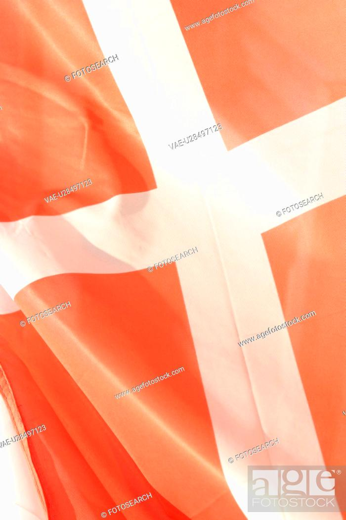 Stock Photo: flag, detail, information, nationality, shadow, colorful.