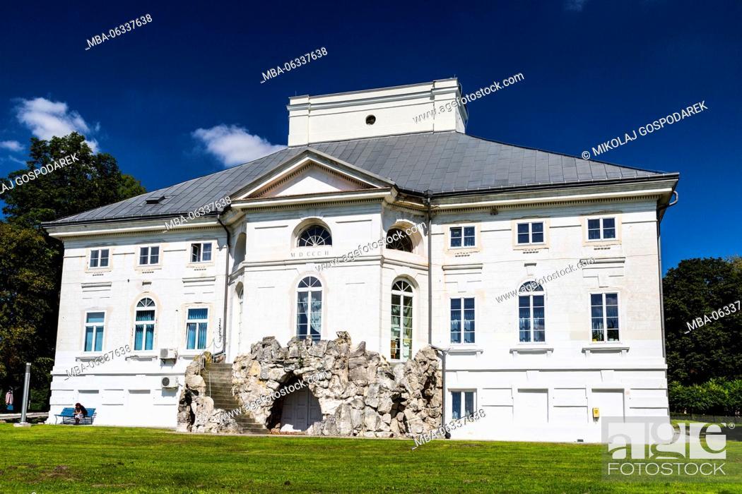 Stock Photo: palace,bejsce,palace bejsce,travel europe,travel poland,europe,poland,polen,polska,gospodarek mikolaj,swietokrzyskie,magic poland,architecture,building.