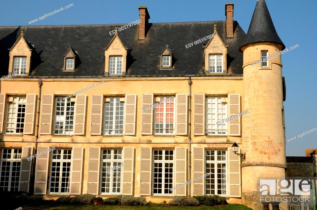 Stock Photo: France, castle of Themericourt in Val d Oise.
