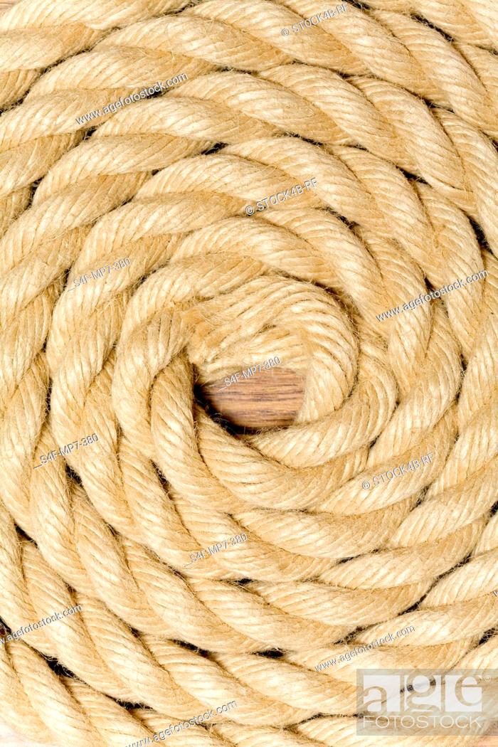 Stock Photo: Detail of a rope.
