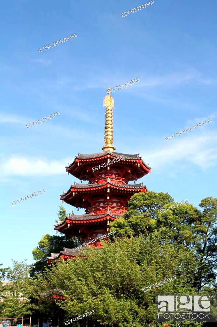 Stock Photo: Kawasaki Daishi temple in Japan.