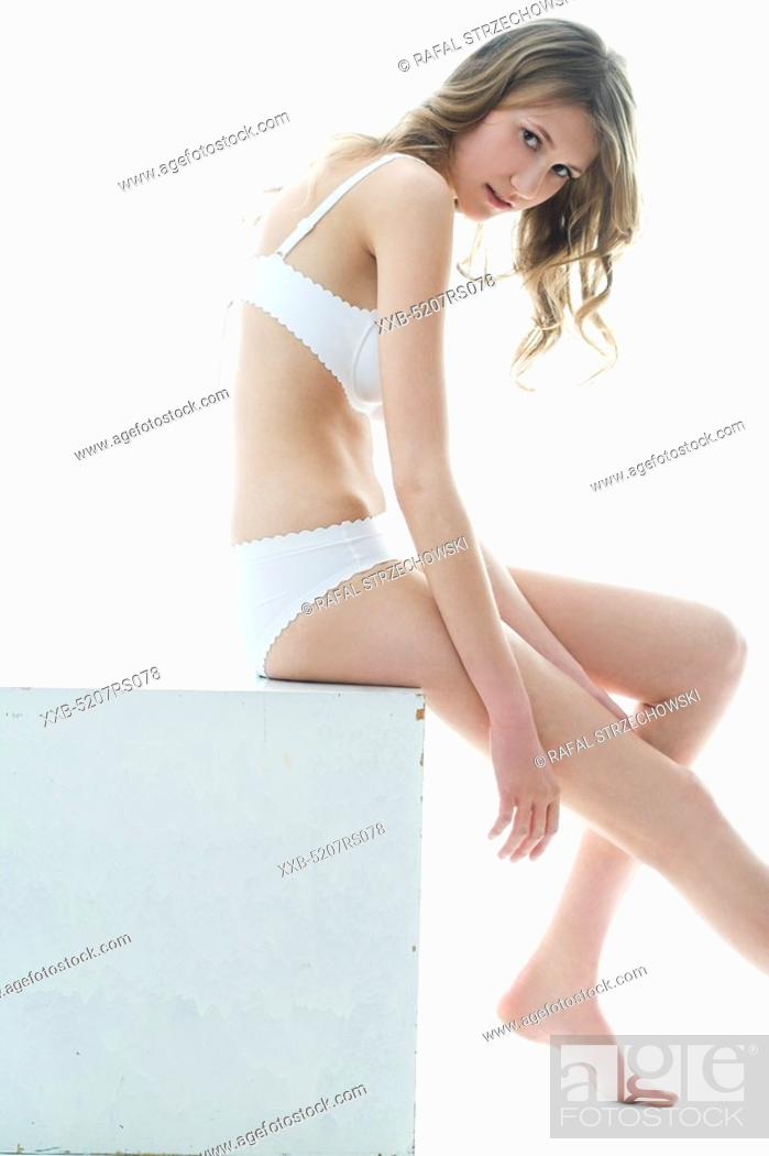 Stock Photo: woman with perfect body.