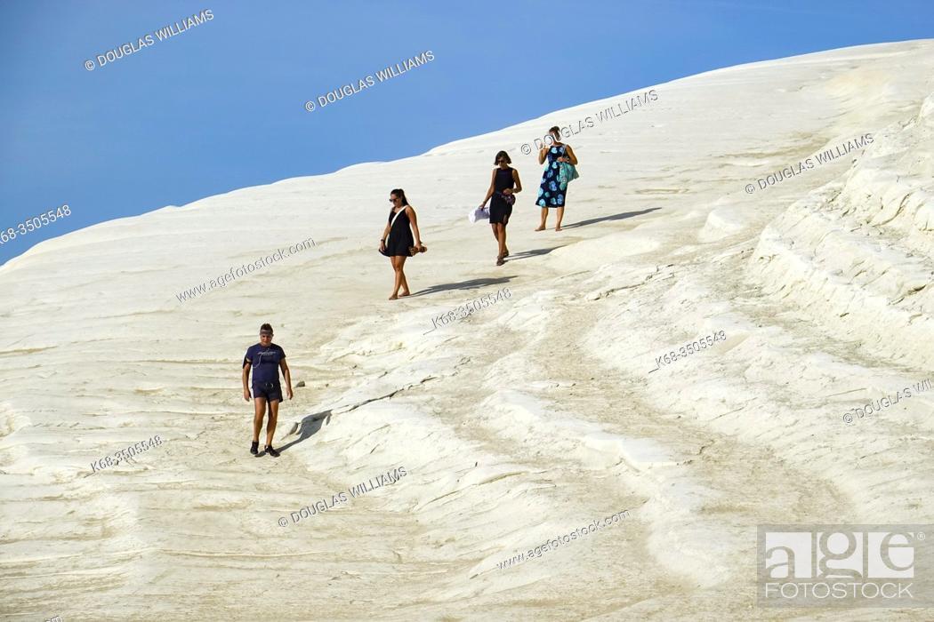 Stock Photo: Scala dei Turchi near Realmonte, Sicily, Italy.