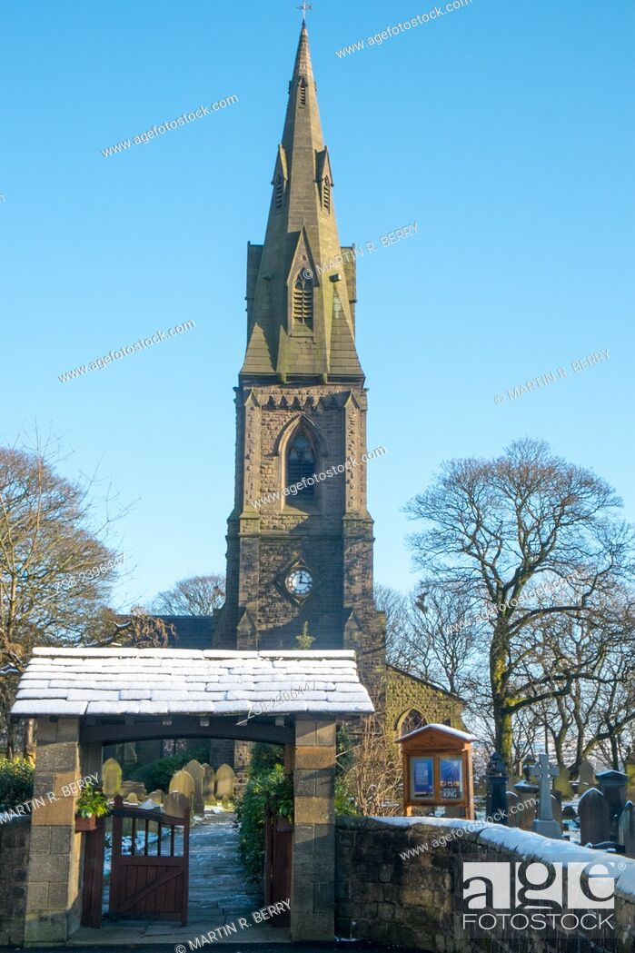 Imagen: Emmanuel church, Ramsbottom, Lancashire, England.