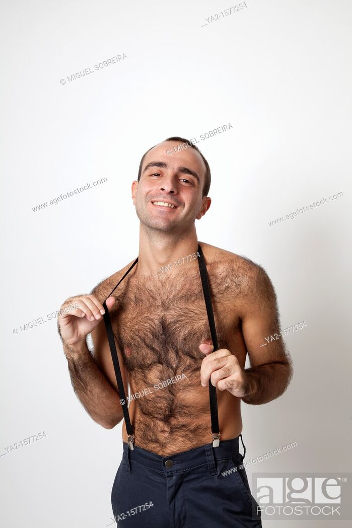 Hairy guy picture