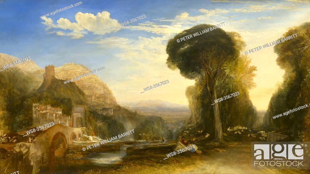 Imagen: Palestrina, Composition, by JMW Turner, 1828, .