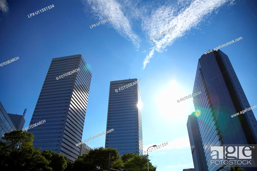 Stock Photo: Skyscraper.