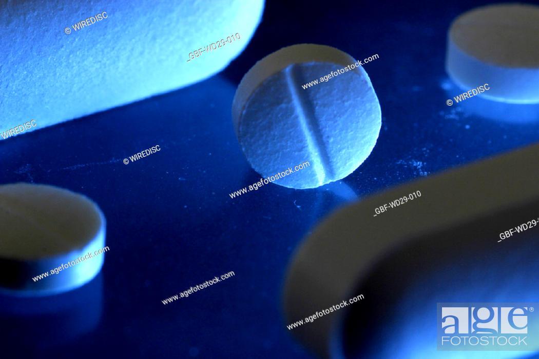 Stock Photo: Medicine, tablet, capsule,.