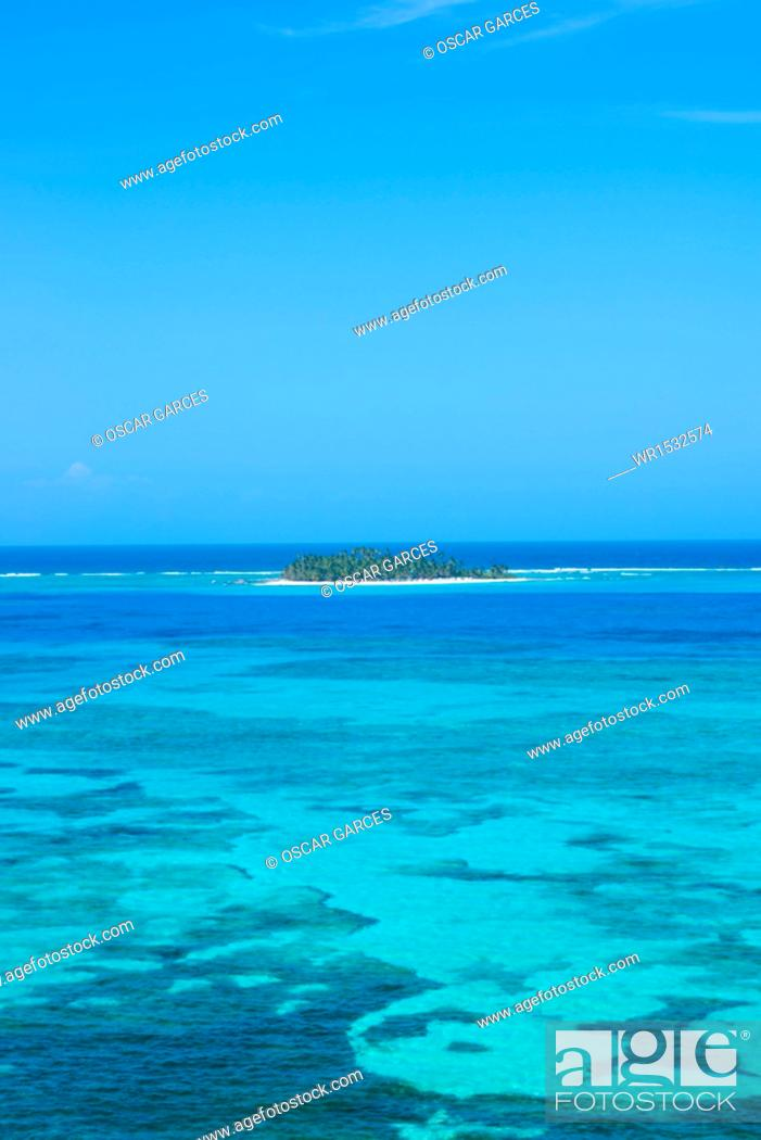 Imagen: Panoramic of San Andres Island, Archipelago of San Andres, Providencia and Santa Catalina, Colombia.