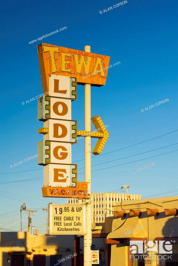 Imagen: USA  New Mexico  Albuquerque  Route 66.