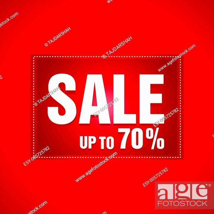 Stock Vector: Sale.