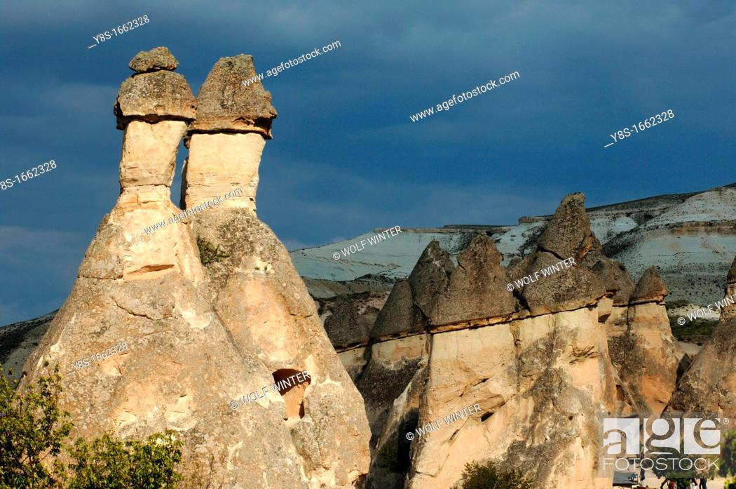 Stock Photo: Fairy Chimneys, Cappadocia.