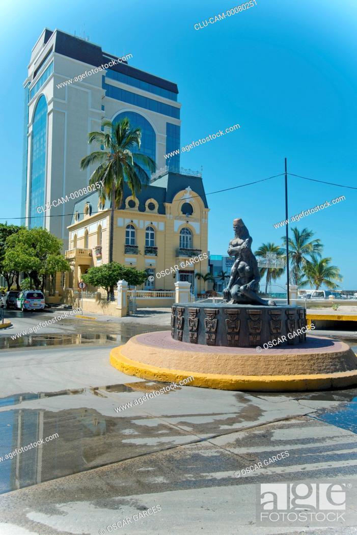 Stock Photo: Tribute to the Tayrona Ethnicity, Santa Marta, Magdalena, Colombia.