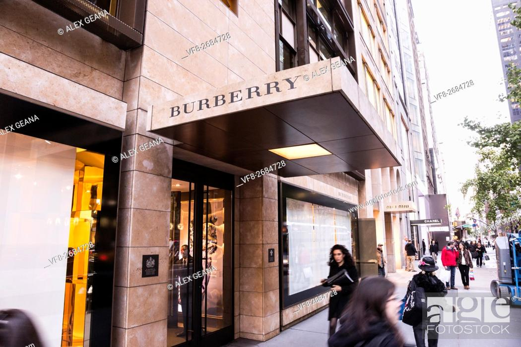 Stock Photo: The london retailer has a home on Fifth Avenue in New York City.