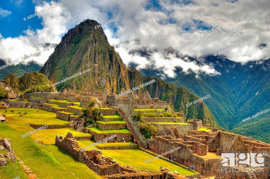 Stock Photo: Machu Picchu.