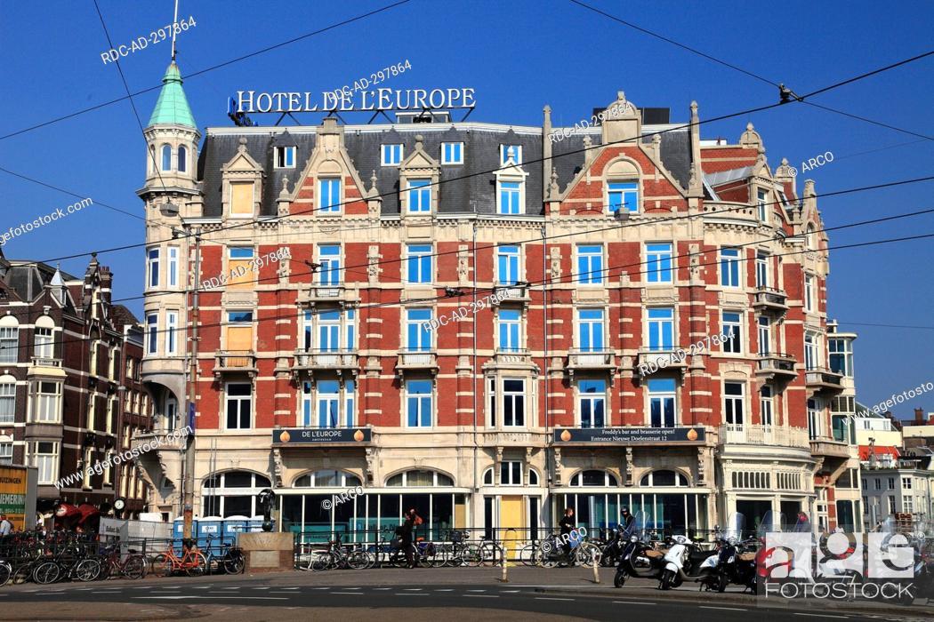 Hotel De L Europe Amsterdam Nordholland Netherlands Stock Photo