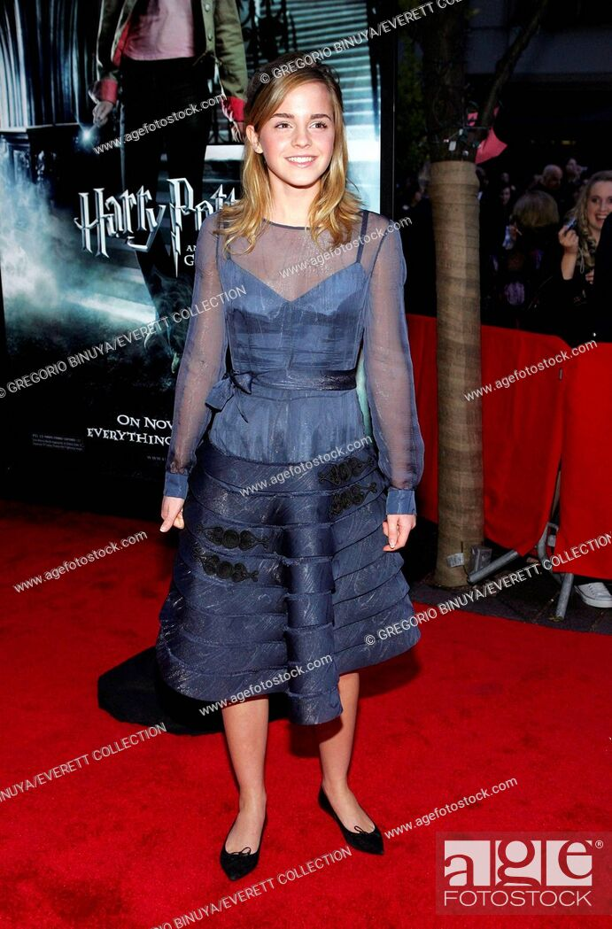 Emma Watson At Arrivals For Harry Potter And The Goblet Of Fire Premiere The Ziegfeld Theatre Stock Photo Picture And Rights Managed Image Pic Cel 0512nvd Gy022 Agefotostock