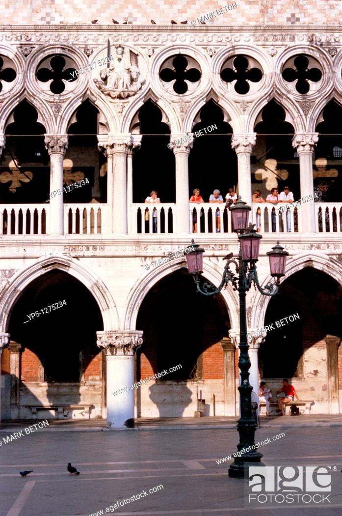 Stock Photo: Piazzetta di San Marco Venice.