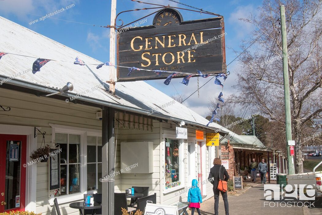 Stock Photo: Berrima village in the Southern Highlands of New South Wales Australia.