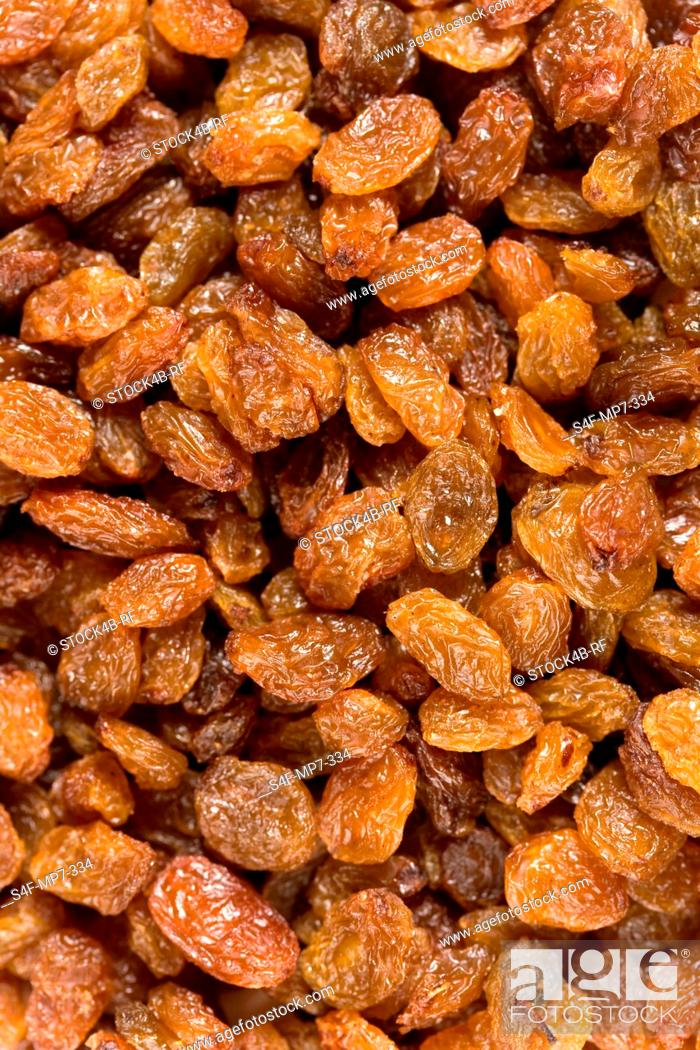 Stock Photo: Detail of raisins.