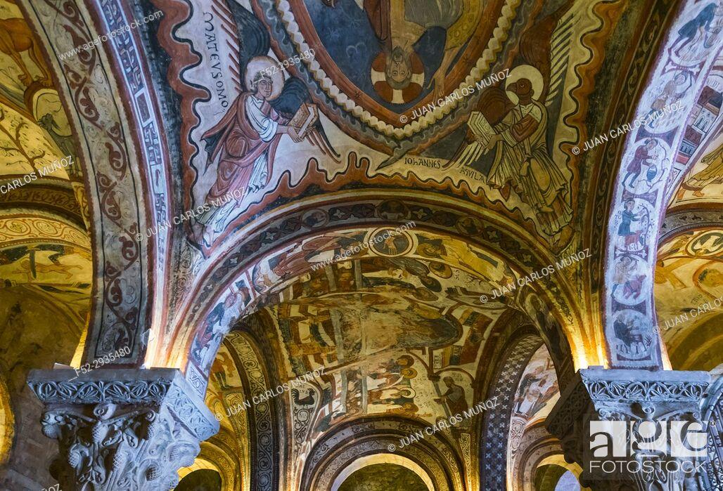 Stock Photo: The Royal Pantheon, Basílica de San Isidoro de León, Leon city, Leon province, Castillo y Leon, Spain, Europe.