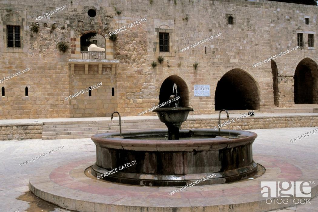 Stock Photo: Midan - Public place - Al-Chalout fountain.