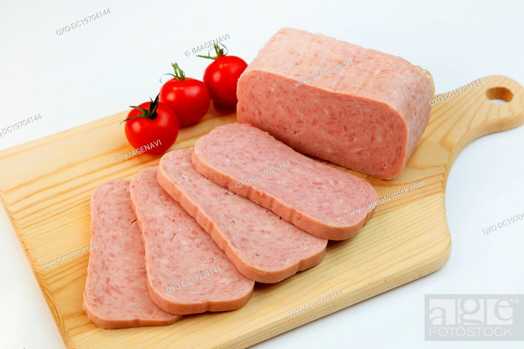 Stock Photo: Sausage meat.