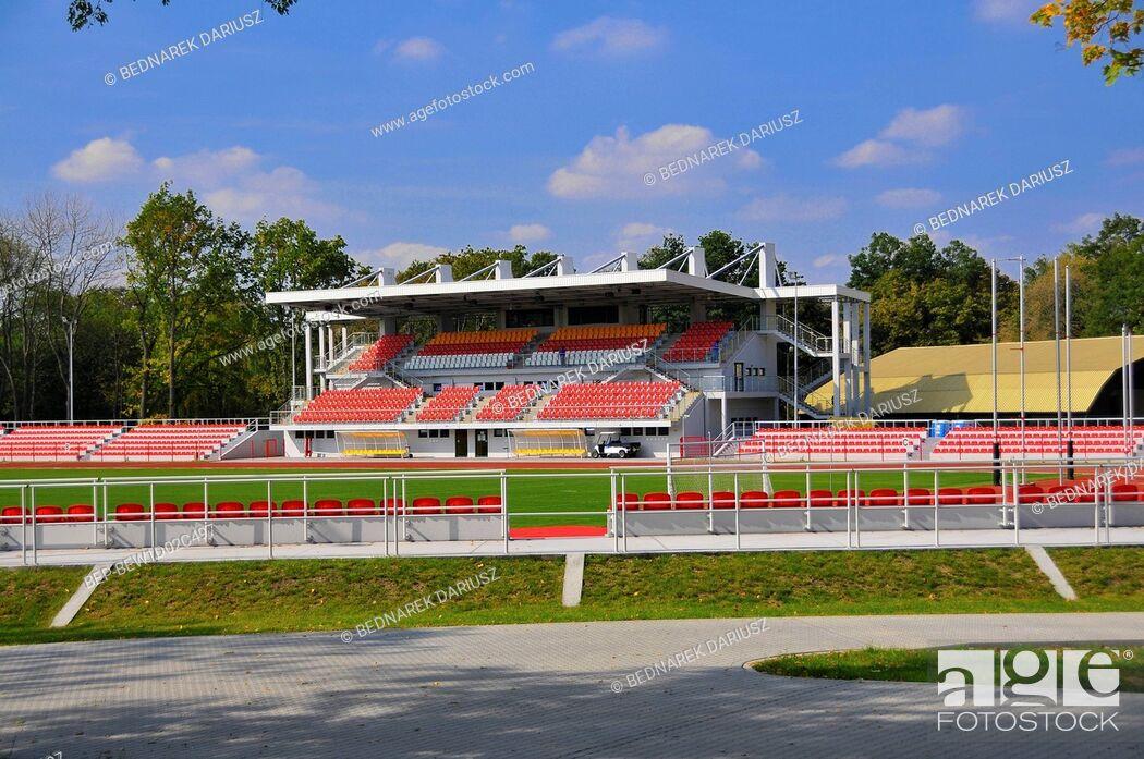 Imagen: Urban Stadium. Inowroclaw, Kuyavian-Pomeranian Voivodeship, Poland.