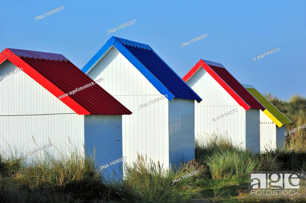 Stock Photo: Gouville-sur-Mer, Manche, Normandy, Basse-Normandie, France, Europe.