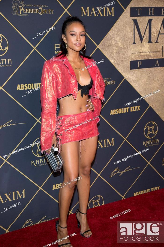 Stock Photo - Karrueche Tran attends the 2017 MAXIM Hot 100 Party at the Hollywood Palladium on June 24, 2017 in Los Angeles, California. 6/24/2017