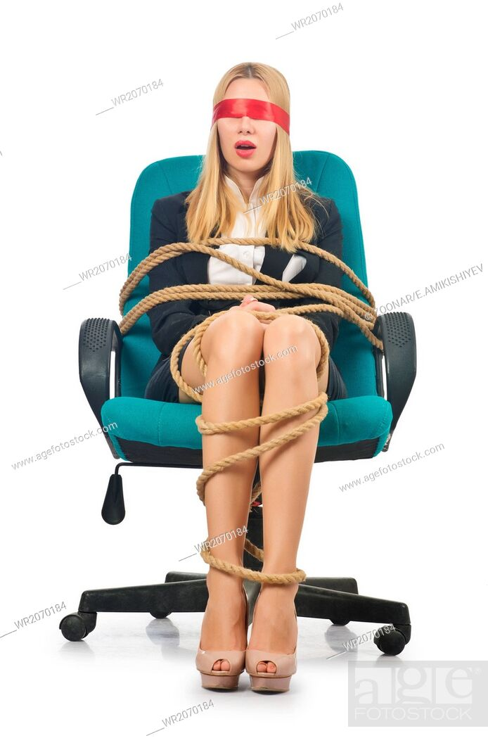 Tied Up To Chair