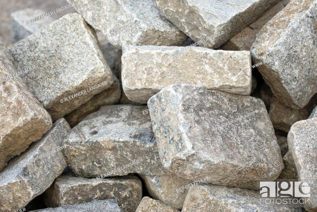 Stock Photo: cobblestones.