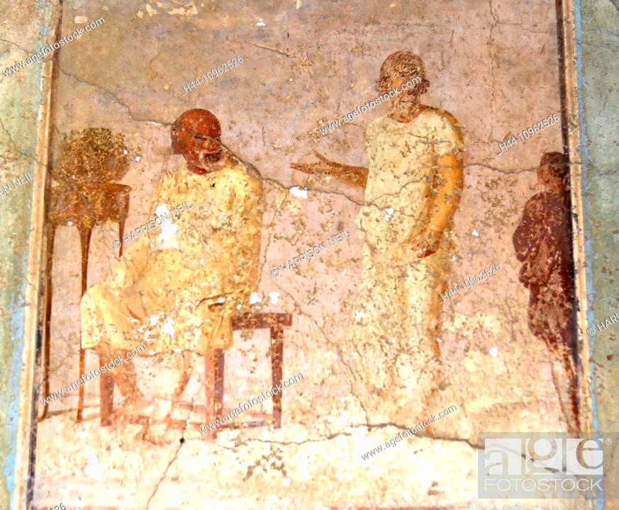 italy europe ancient rome fresco painting paint plaster style