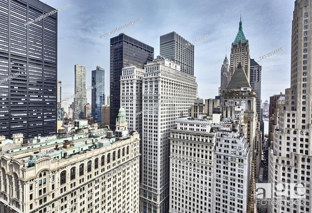 Stock Photo: NYC Skyline-01.