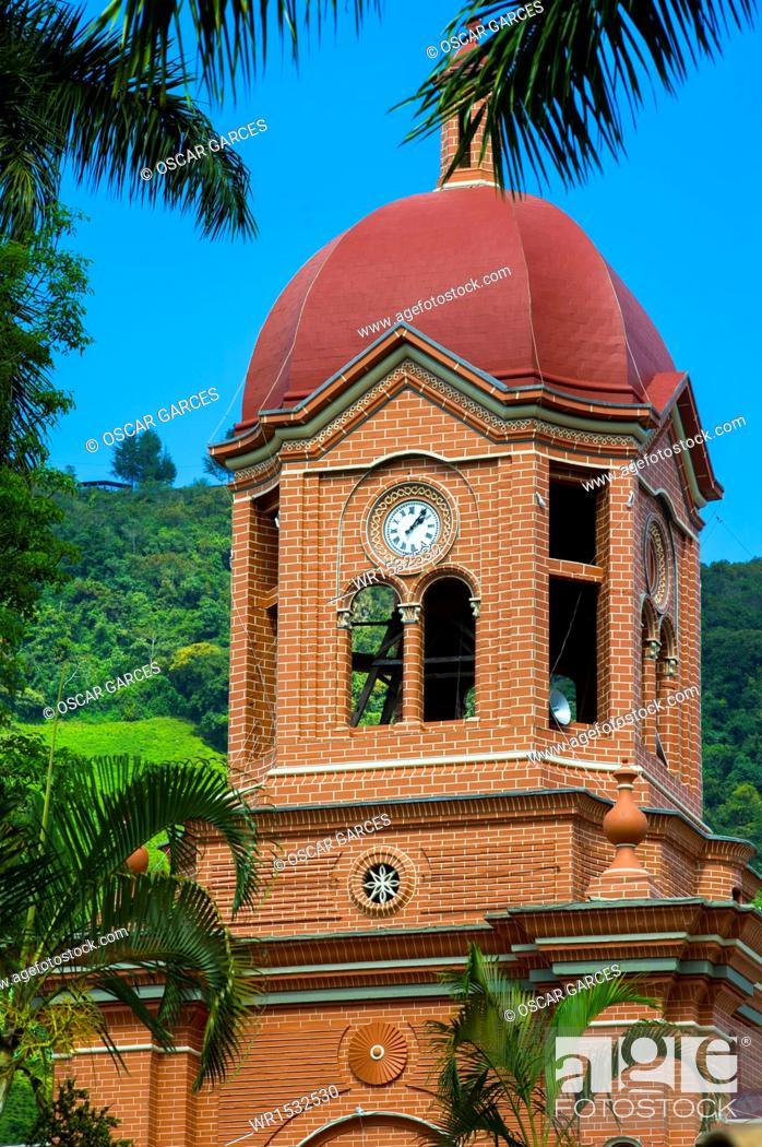 Imagen: Church Parish of San Antonio de Padua, Pueblorrico, Southwestern Antioquia, Antioquia.