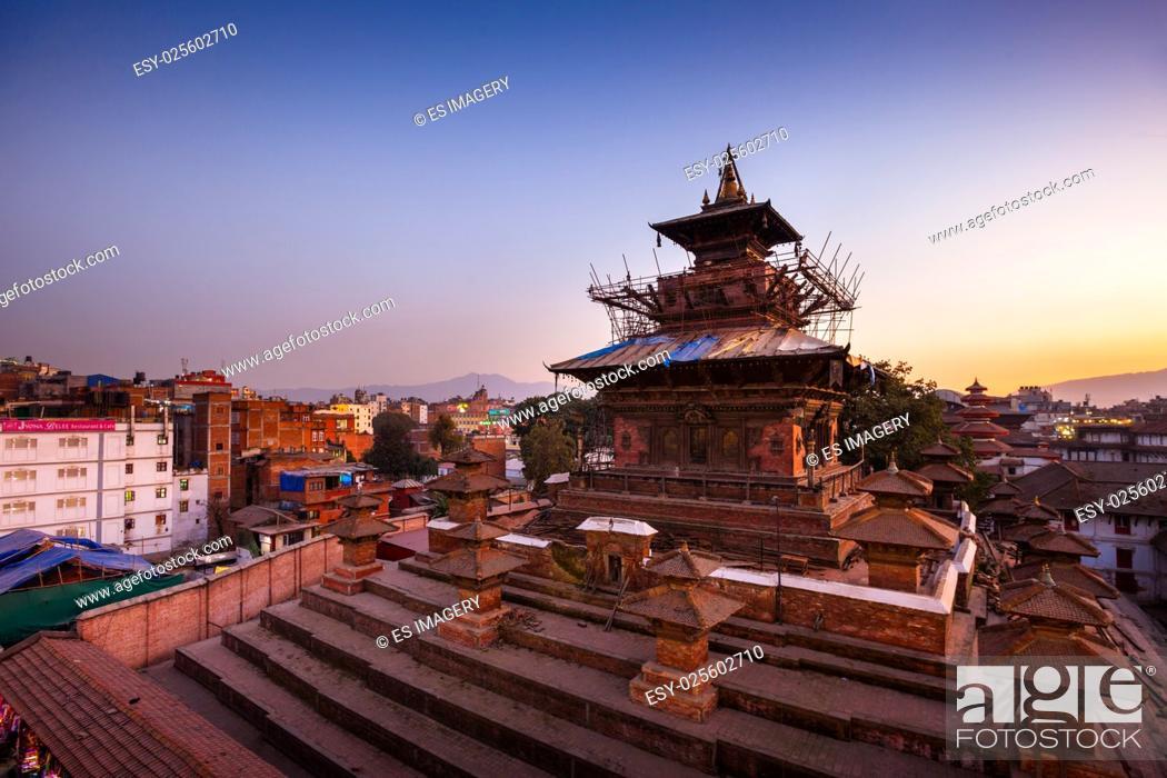 Stock Photo: Taleju Temple at Kathmandu Durbar Square.