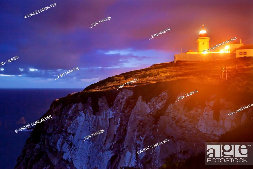 Stock Photo: Cabo da Roca, Sintra, Portugal, Europe.