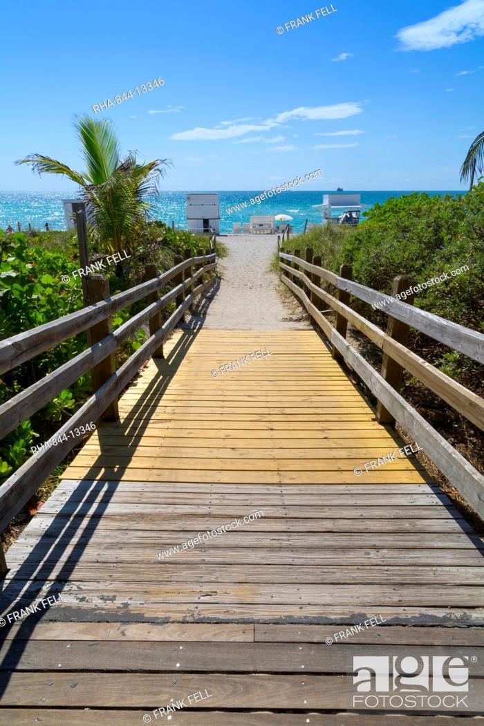 Atlantic Ocean South Beach Miami