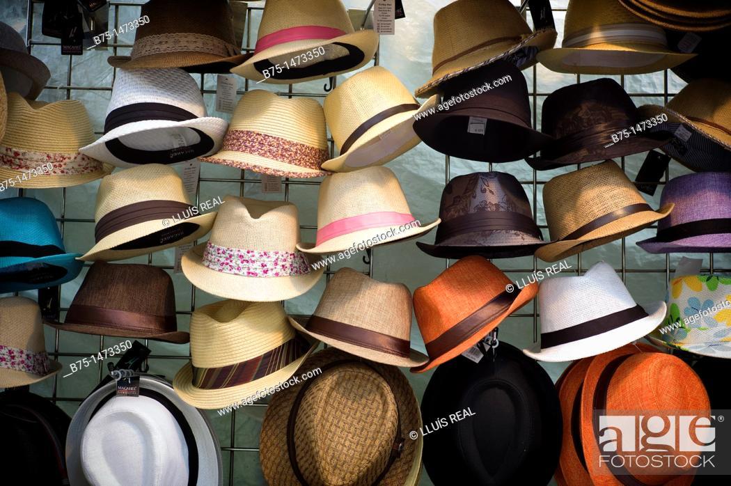 Stock Photo: Hats.