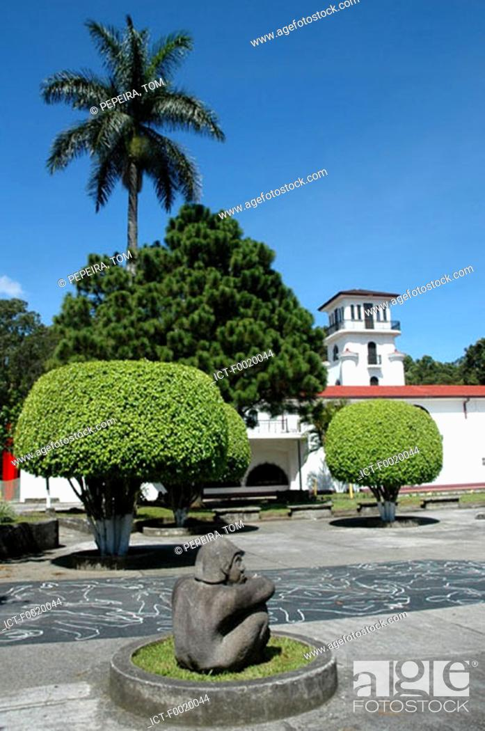 Stock Photo: Costa Rica, San JosÚ, Museum of Modern Art.