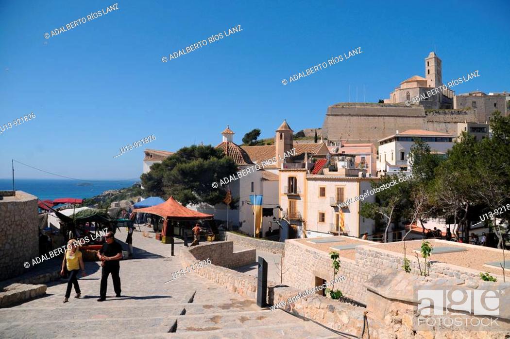 Stock Photo: Ibiza, Balearic Islands, Spain.